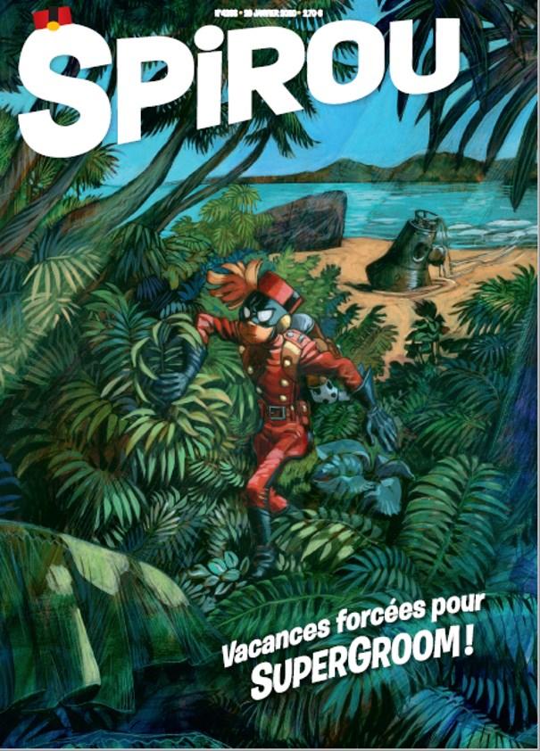 Abonnement de 3 mois au magazine Spirou + BD Spirou et Fantasio Le Nid des Marsupilamis Tome 12 (sans engagement) - abo.Spirou.com