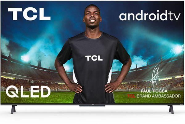 "TV 75"" TCL 75C725 - 4K UHD, QLED, Android TV, HDR Pro, Quantum Dot, Dolby Atmos / Vision (via ODR 100€, + 139.5 à 264.5€ en RP) - Boulanger"