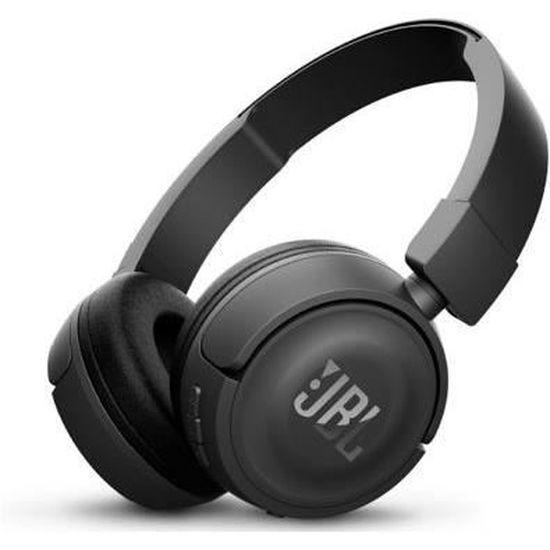 Casque audio sans-fil JBL T460BT - noir