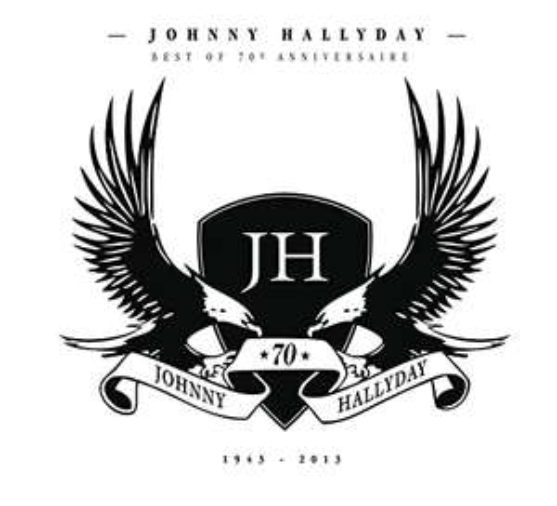 CD Johnny Hallyday - 70eme Anniversaire
