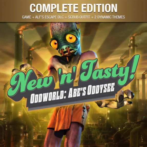 Jeu Oddworld : New 'n' Tasty - Complete Edition sur PS4 (Dématérialisé)