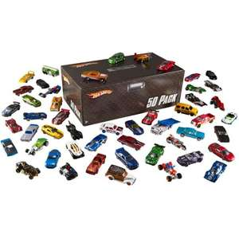 Lot 50 voitures miniatures Hot Wheels