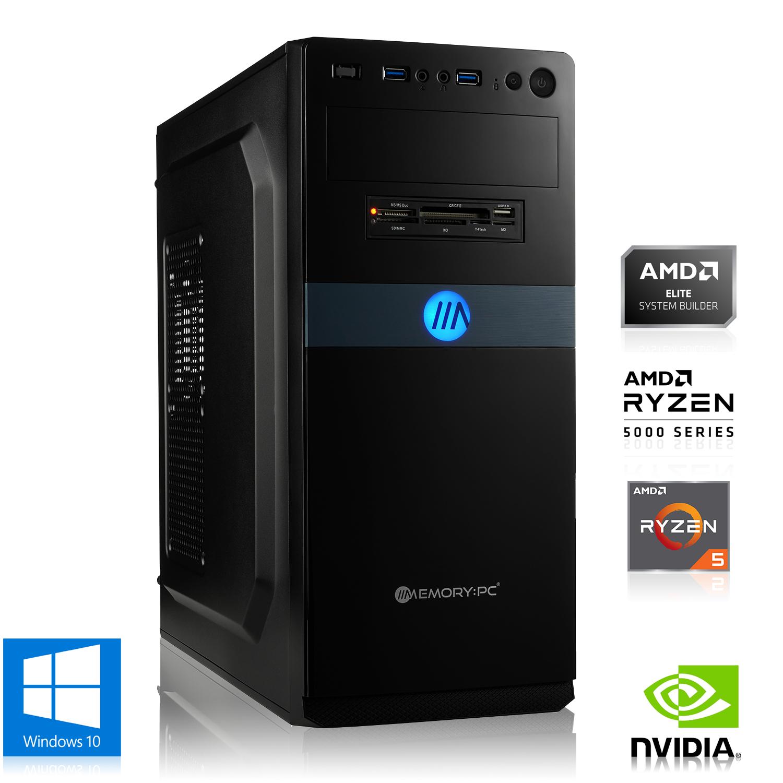 PC de bureau gaming AMD Ryzen 5 3500X 6x 3.60GHz, 8Go DDR4, GeForce GT 1030, 1To HDD, Win 10 Home