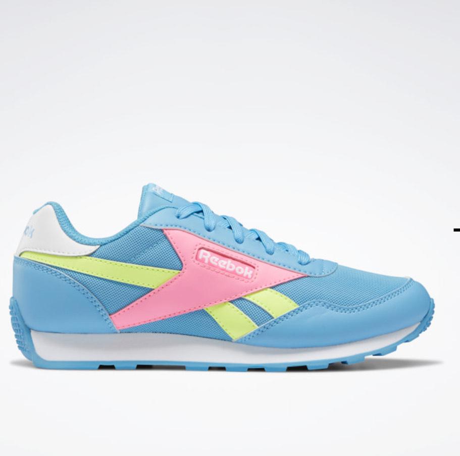 Sneakers enfant Reebok Royal Rewind Run - Radiant Aqua / Electro Pink / Yellow Flare