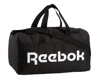 Sac de sport Reebok - Noir et blanc