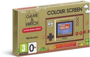 Console portable Nintendo Game & Watch Super Mario Bros (Via 20€ sur Carte Fidélité)