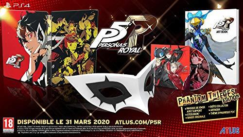 Persona 5 Royal - Édition Phantom Thieves sur PS4 (vendeurs tiers)