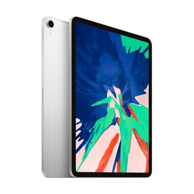 """Sélection de tablettes Apple iPad en promotion - Ex: Tablette 11"""" Apple iPad Pro 11 (2018) - 256 Go, Argent (MTXR2NF/A)"""