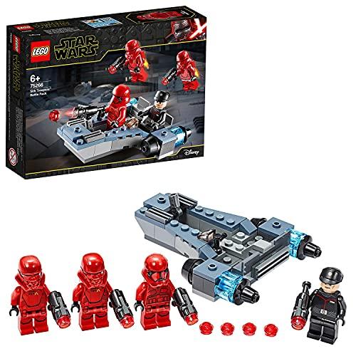 Jeu de construction Lego Star Wars - Coffret de bataille Sith Troopers avec speeder (75266)