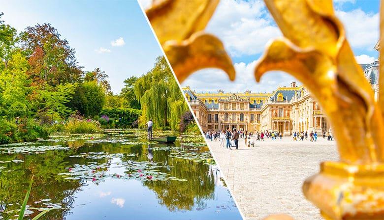 Visite Audio-Guidée des Jardins de Monet à Giverny et du Château de Versailles (Déjeuner inclus) - Giverny (27), Versailles (78)