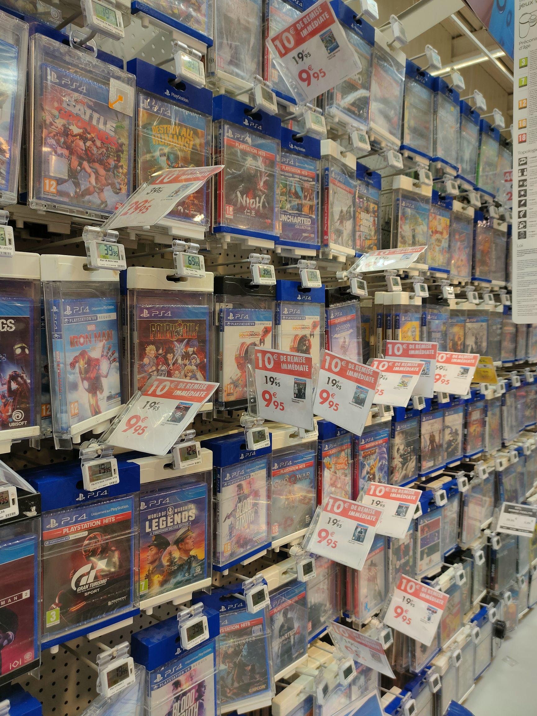 Sélection de jeux vidéo sur PS4 à 9.95€ - Givors (69)