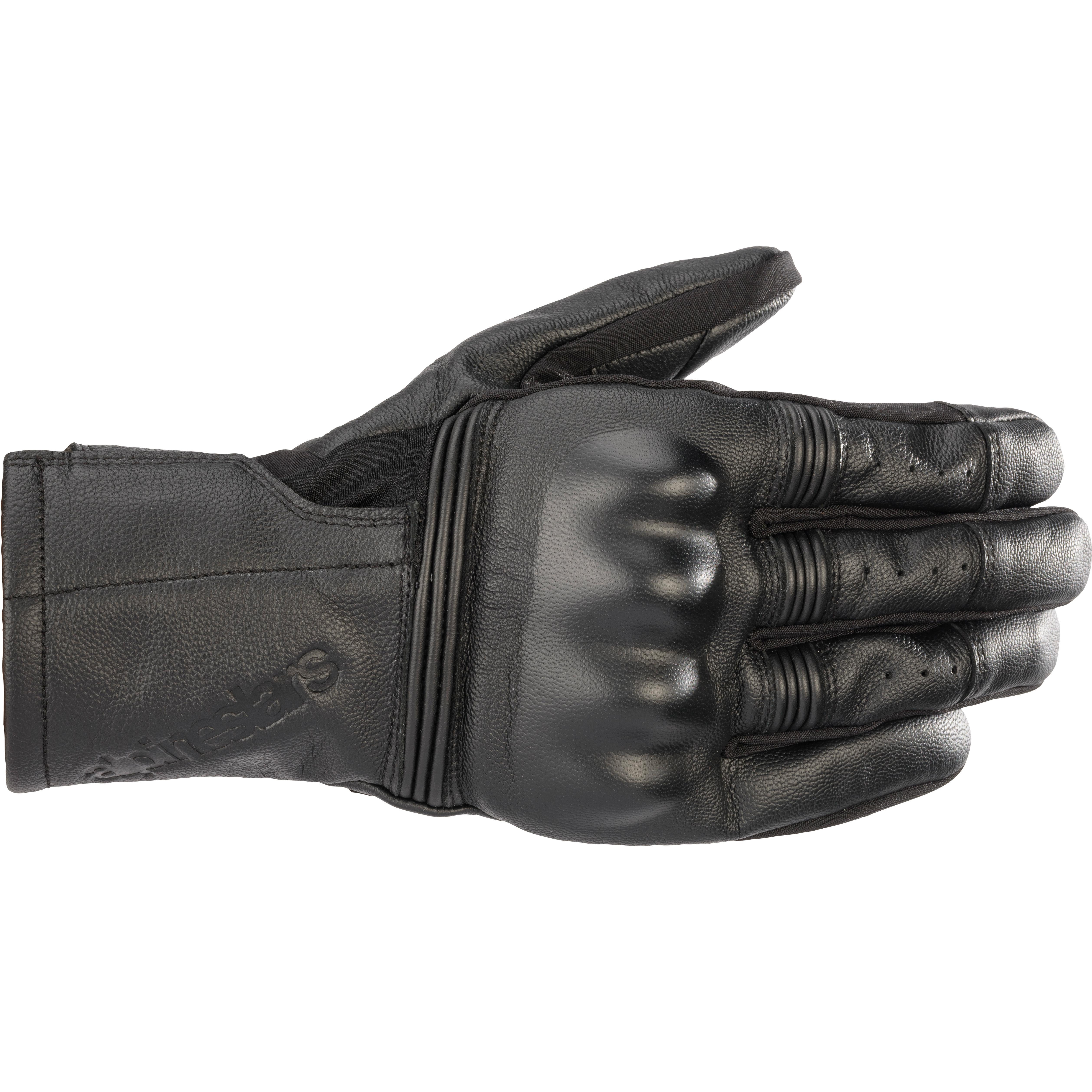 Gants de moto été en cuir Alpinestars Gareth - Taille au choix