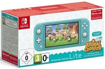 Console Nintendo Switch Lite + Animal Crossing : New Horizons + Abonnement Online 3 mois (via 97,99€ en bon d'achat) - Erstein (67)