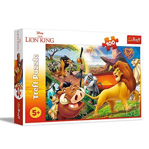 Lot de 2 puzzles identiques Trefl Disney The Lion King - 100 pièces