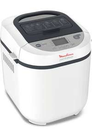 Machine à pain Moulinex OW250110 - Blanc, 1kg, 20 programmes