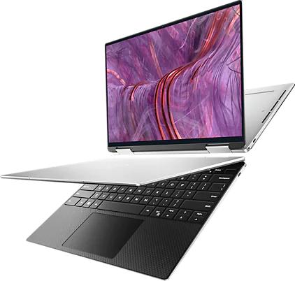 """PC Portable 13.4"""" Dell Nouveau XPS 13 2 en 1 - UHD+, i7-1165G7, 32 Go RAM, 1 To SSD NVMe, Iris Xe, Windows 10"""