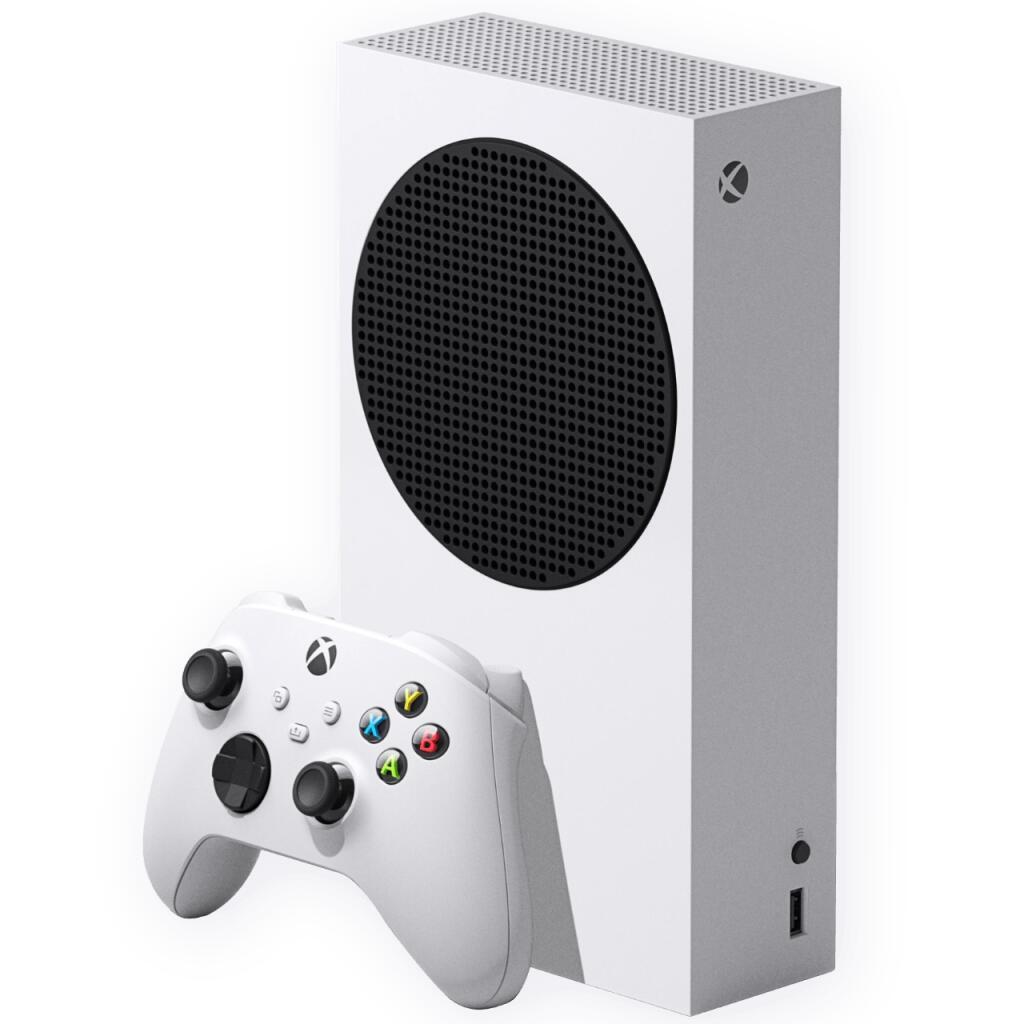 Console Microsoft Xbox Series S 512 Go (via 60€ en bon d'achat) - Géant Brest (29)
