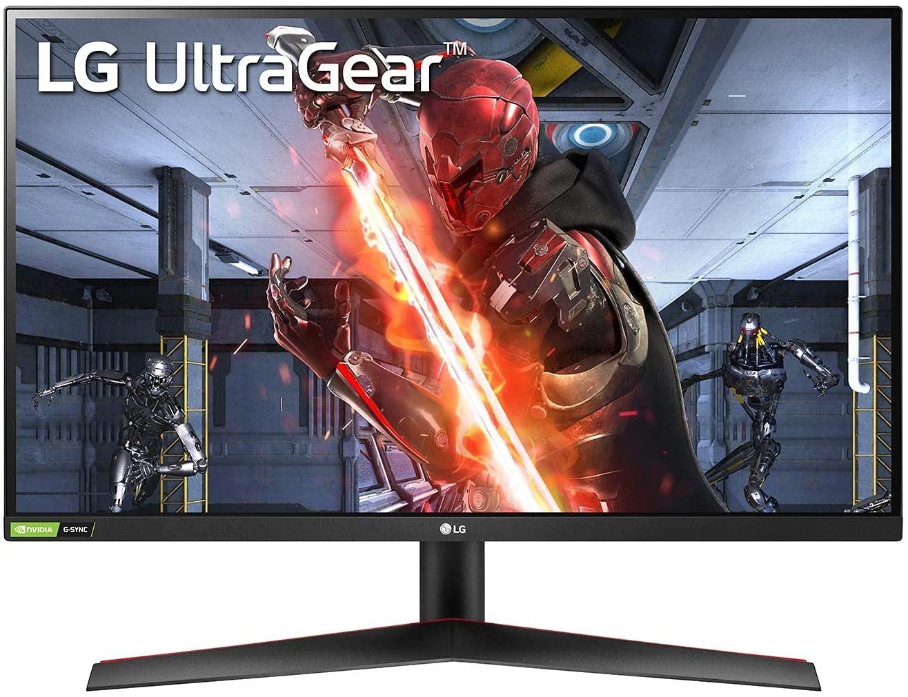 Ecran PC 27'' LG 27GN600-B - Full HD, Dalle IPS, 144 Hz, 1 ms, Freesync