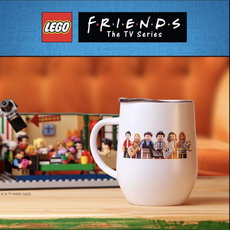 Lego Ideas Friends Central Perk 21319 + Mug collector offert