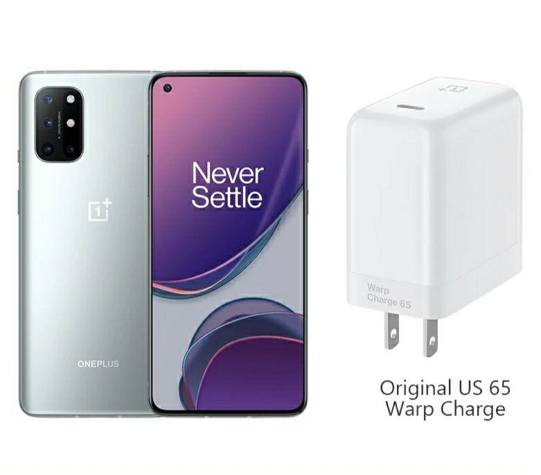 "Smartphone 6.55"" OnePlus 8T 5G - Full HD+, Snapdragon 865, 8 Go RAM, 128 Go (361€ avec le code FRJUN250)"