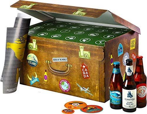 [Prime] Coffret 24 bières du monde + Carte du monde à gratter + 4 sous bocks + Décapsuleur + Livret de dégustation + eBook (Vendeur tiers)