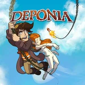 Sélection de jeux en promotion - Ex : Deponia sur PS4 (Dématérialisé)