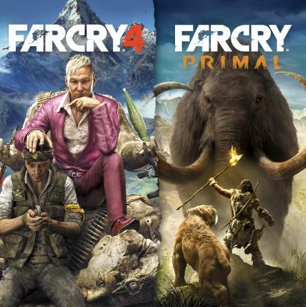 Jeux Far Cry 4 + Far Cry Primal sur PS4 (Dématérialisé)