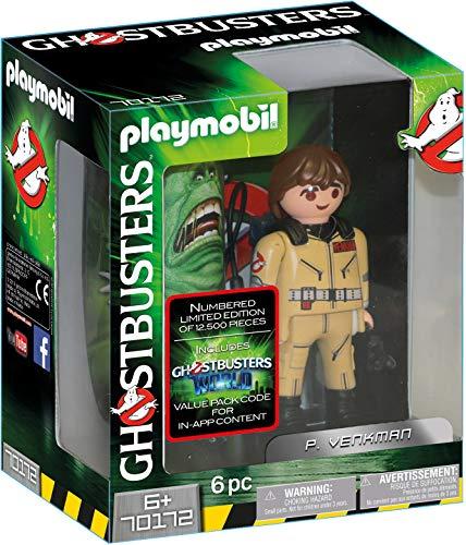 Jouet Playmobil Ghostbusters Edition Collector P. Venkman, 70172 (Vendeur Tiers)