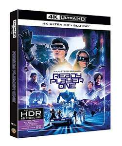 Blu-Ray 4K Ready Player One (Import Italie)