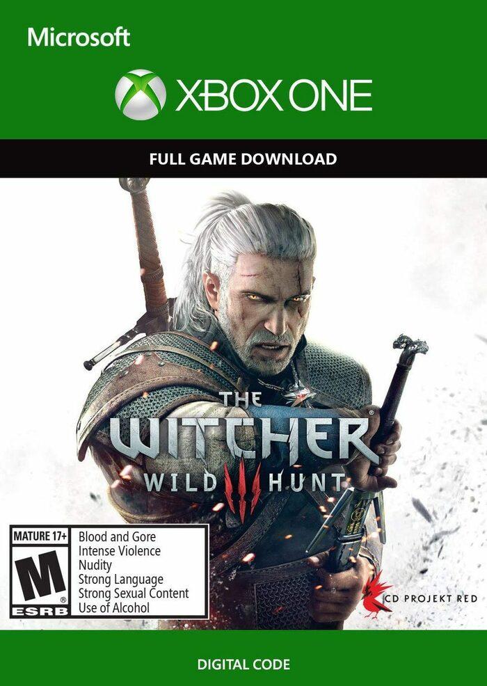 Jeu The Witcher 3: Wild Hunt sur Xbox One (Dématéiralisé, Clé Compte UK)