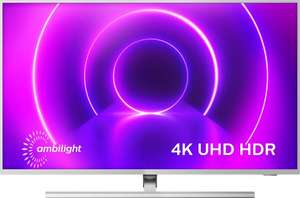 """TV 65"""" Philips 65PUS8555 - 4K, LED, HDR10+ / HLG, Dolby Vision & Atmos, P5, Ambilight 3 côtés, Smart TV (Frontaliers Suisse)"""