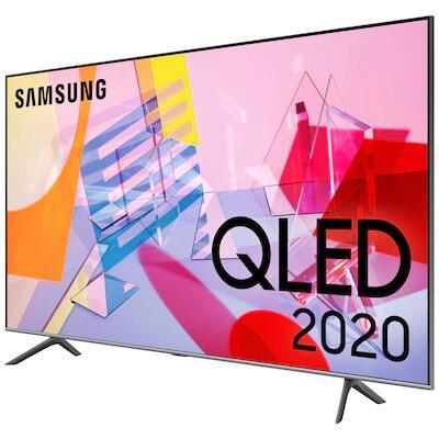 "TV 55"" Samsung QE55Q60T (2020) - 4K UHD, QLED, Smart TV (Frontaliers Suisse)"