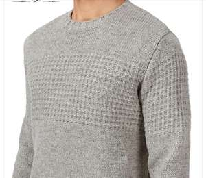 Pull Wolf & York Camden Gris Light Heather pour homme