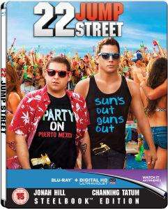 Blu-ray 22 Jump Street - Édition Steelbook