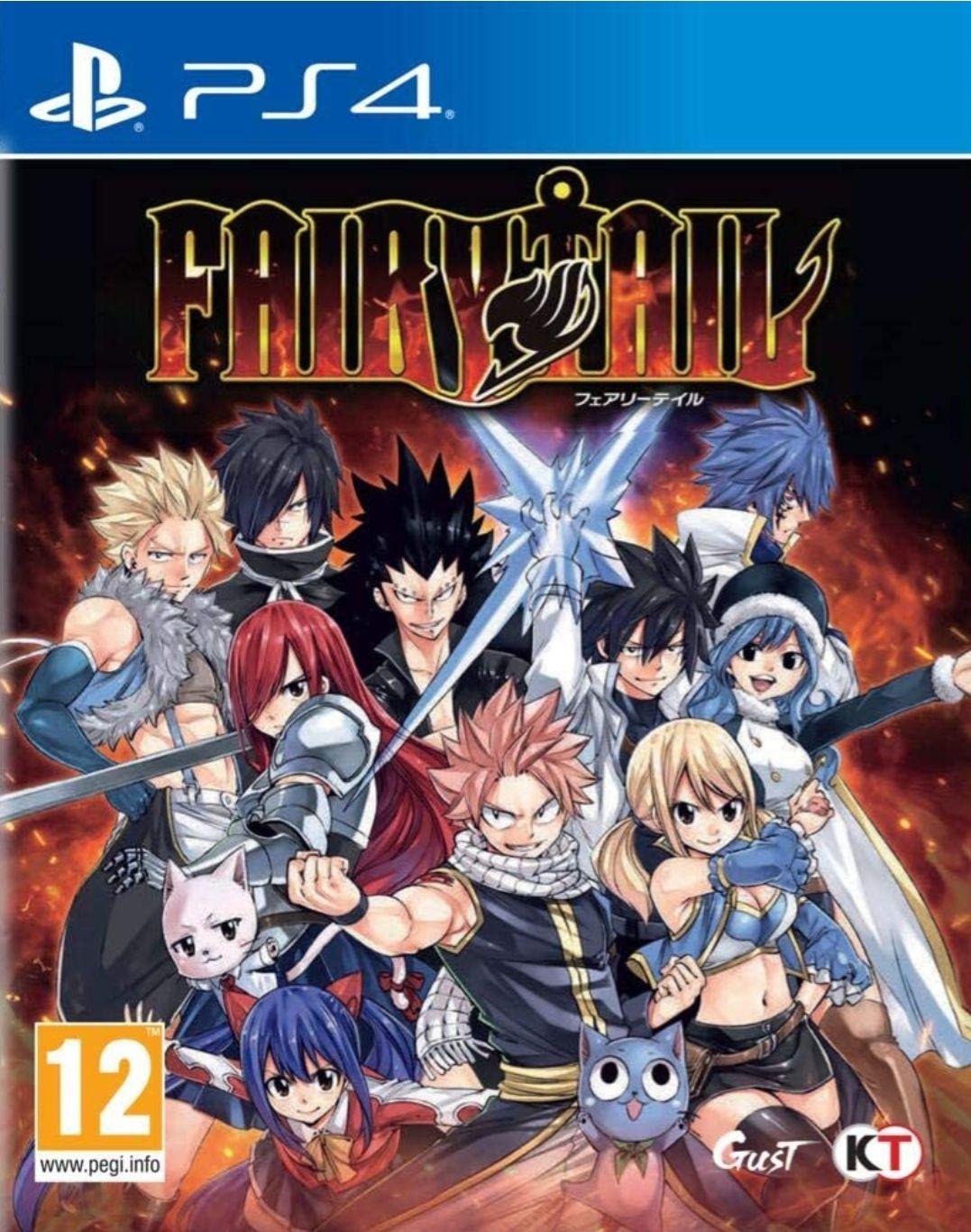 Jeu Fairy Tail sur PS4 (Frais d'importation et de port inclus)