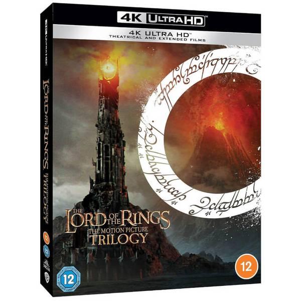 Coffret Blu-ray 4K - La trilogie du Seigneur des Anneaux