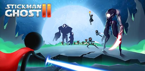 Jeu Stickman Ghost 2: Gun Sword - Shadow Action RPG sur Android