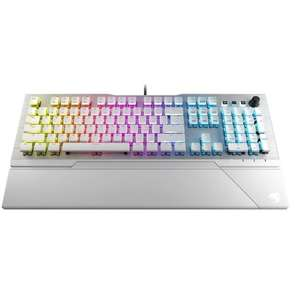 Clavier gamer filaire Roccat Vulcan 122 Aimo - Switch Brown, Blanc