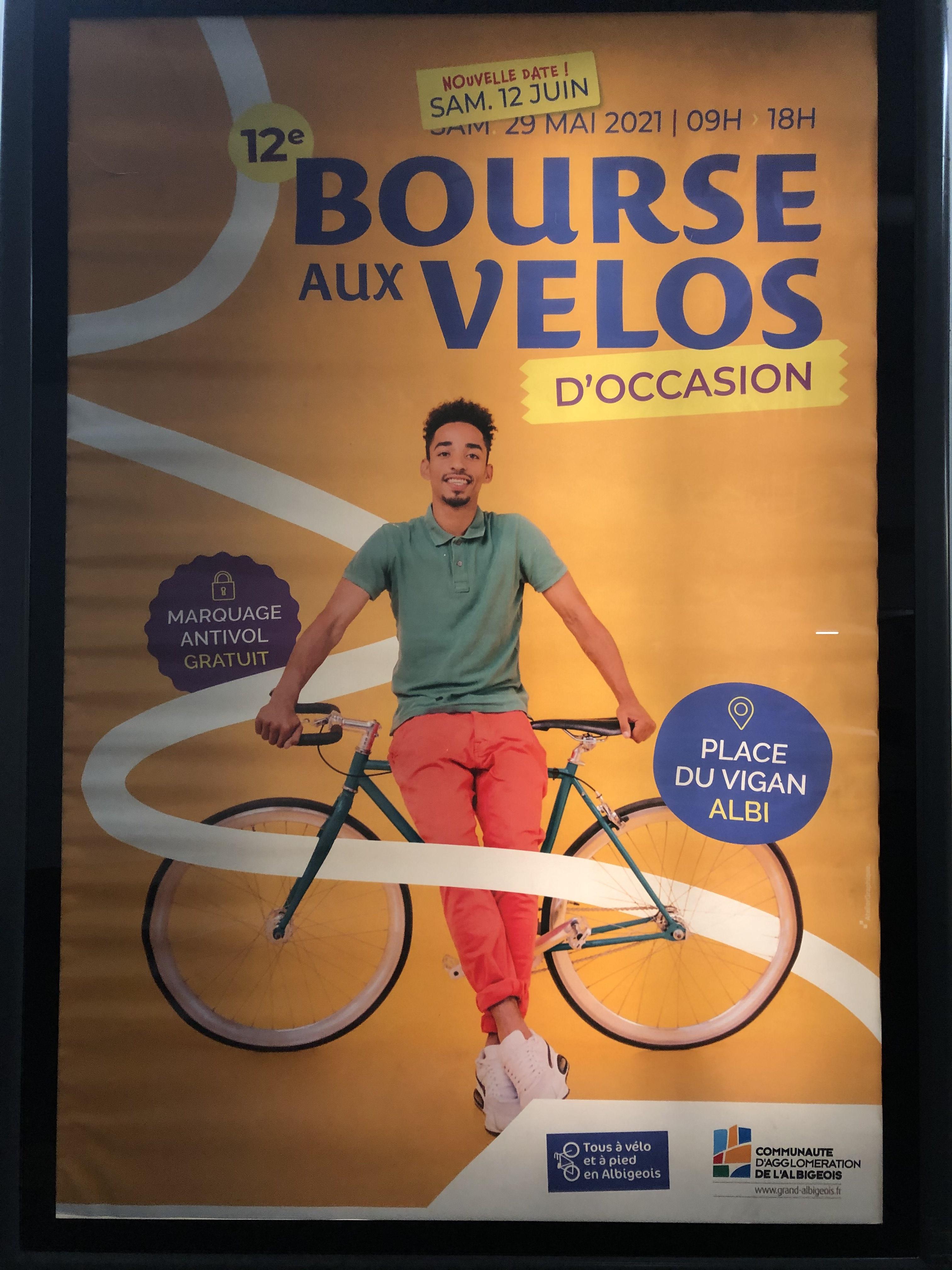 Marquage Vélo gratuit - Bourse aux Vélos - Albi (81)