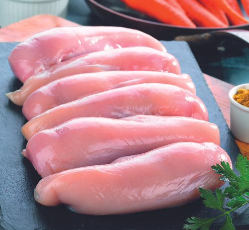 Le kg de filet de poulet
