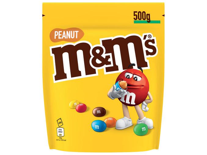 2 Sachets de M&M's Peanut - 2x 500g