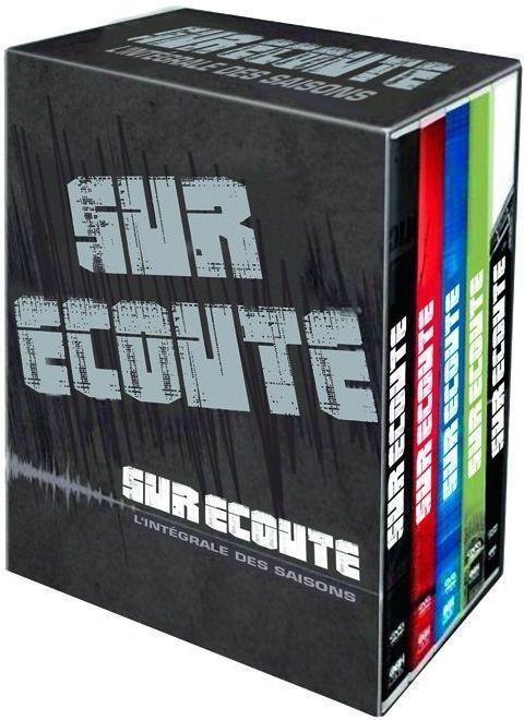 Coffret DVD The Wire -  L'intégrale des saisons 1 à 5