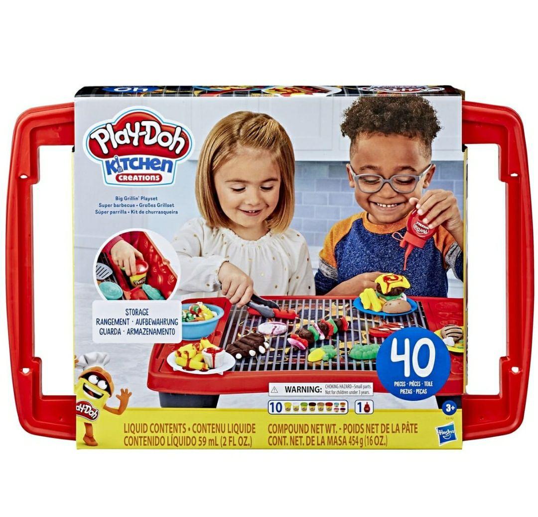 Kit pâte à modeler Play-doh Super Barbecue