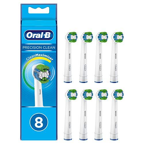 Pack de 8 brossettes pour brosse à dents électrique Oral-B Precision Clean