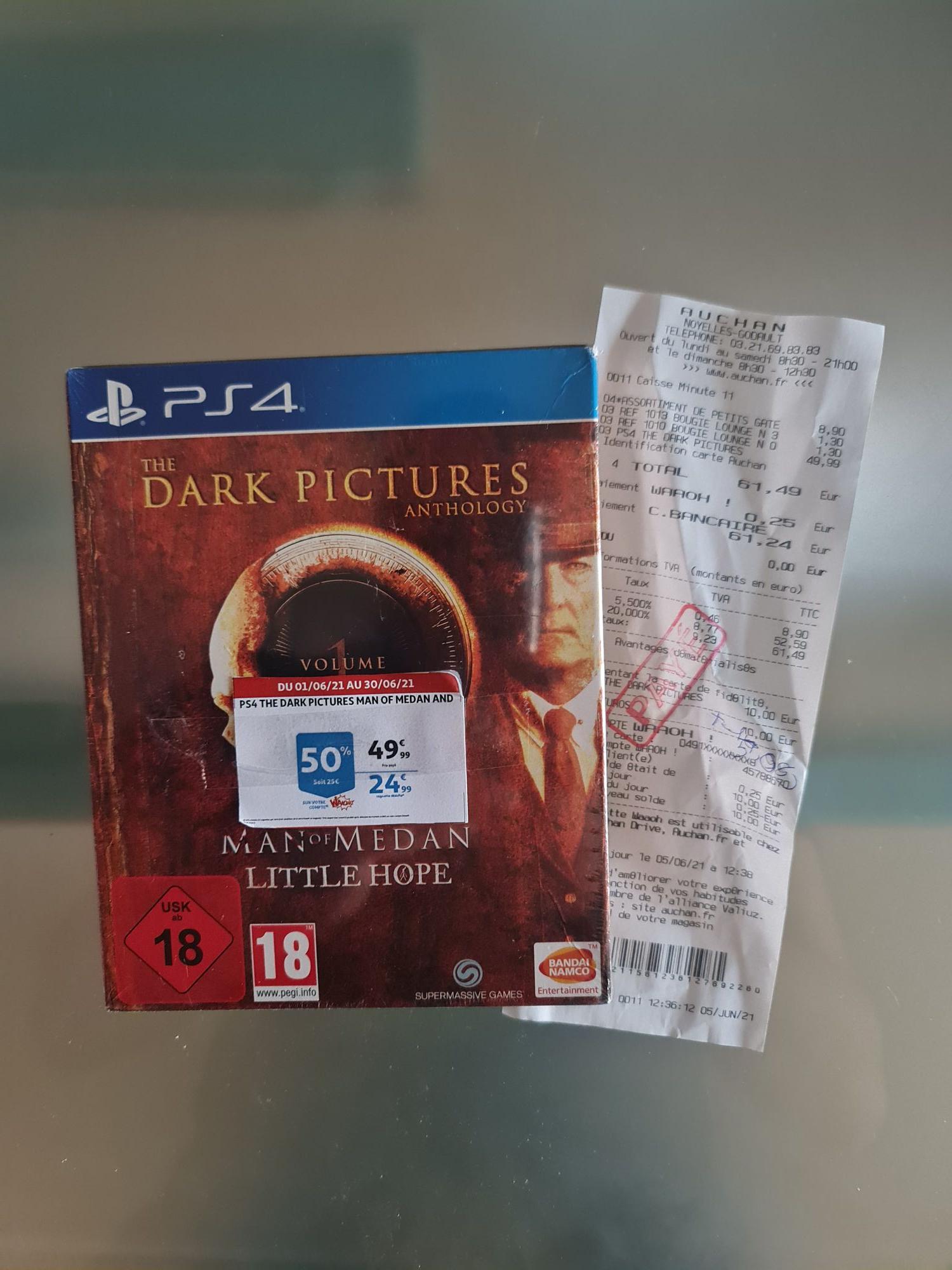 Jeu Dark picture anthology sur PS4 - Limited édition, Auchan Noyelles-Godault (62)