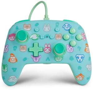 Manette filaire PowerA Animal Crossing compatible Nintendo Switch
