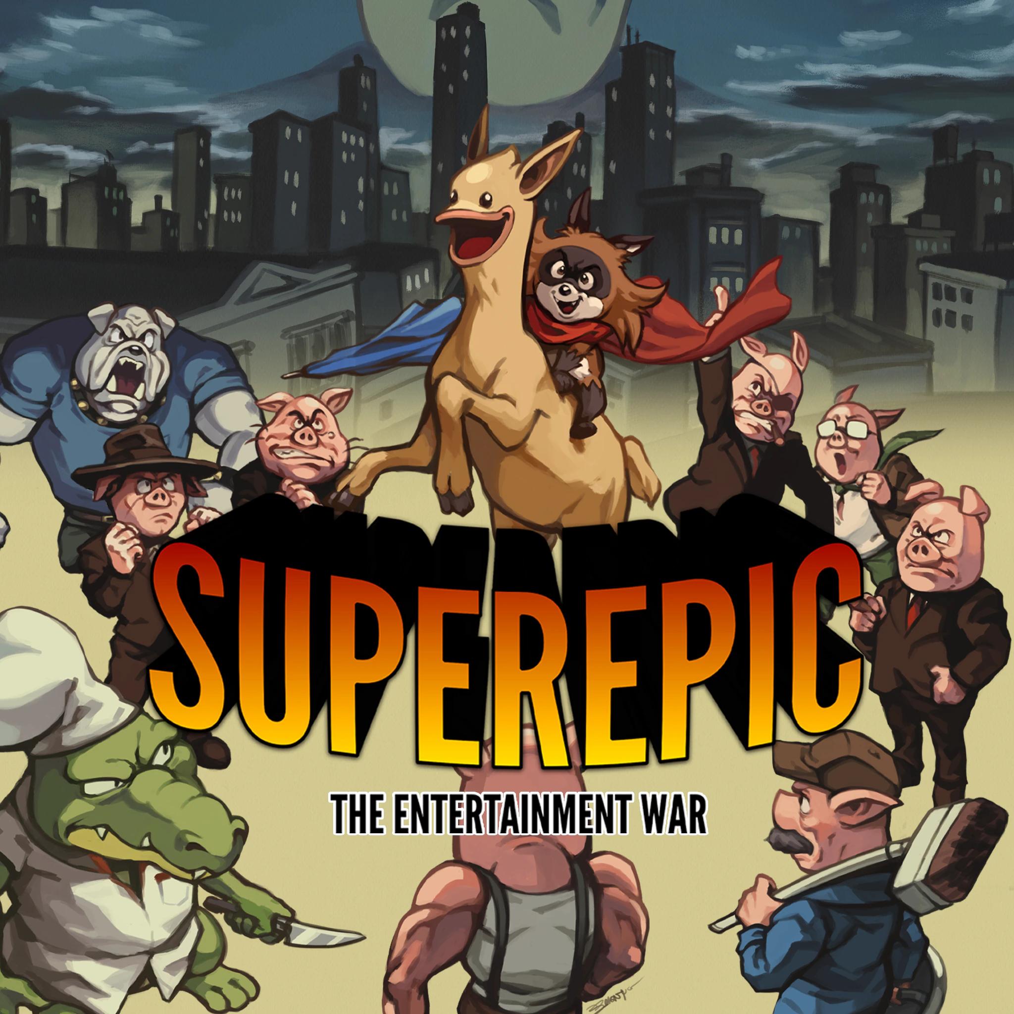 Sélection de jeux Nintendo Switch en promotion (Dématérialisé) - Ex: SuperEpic: The Entertainment War