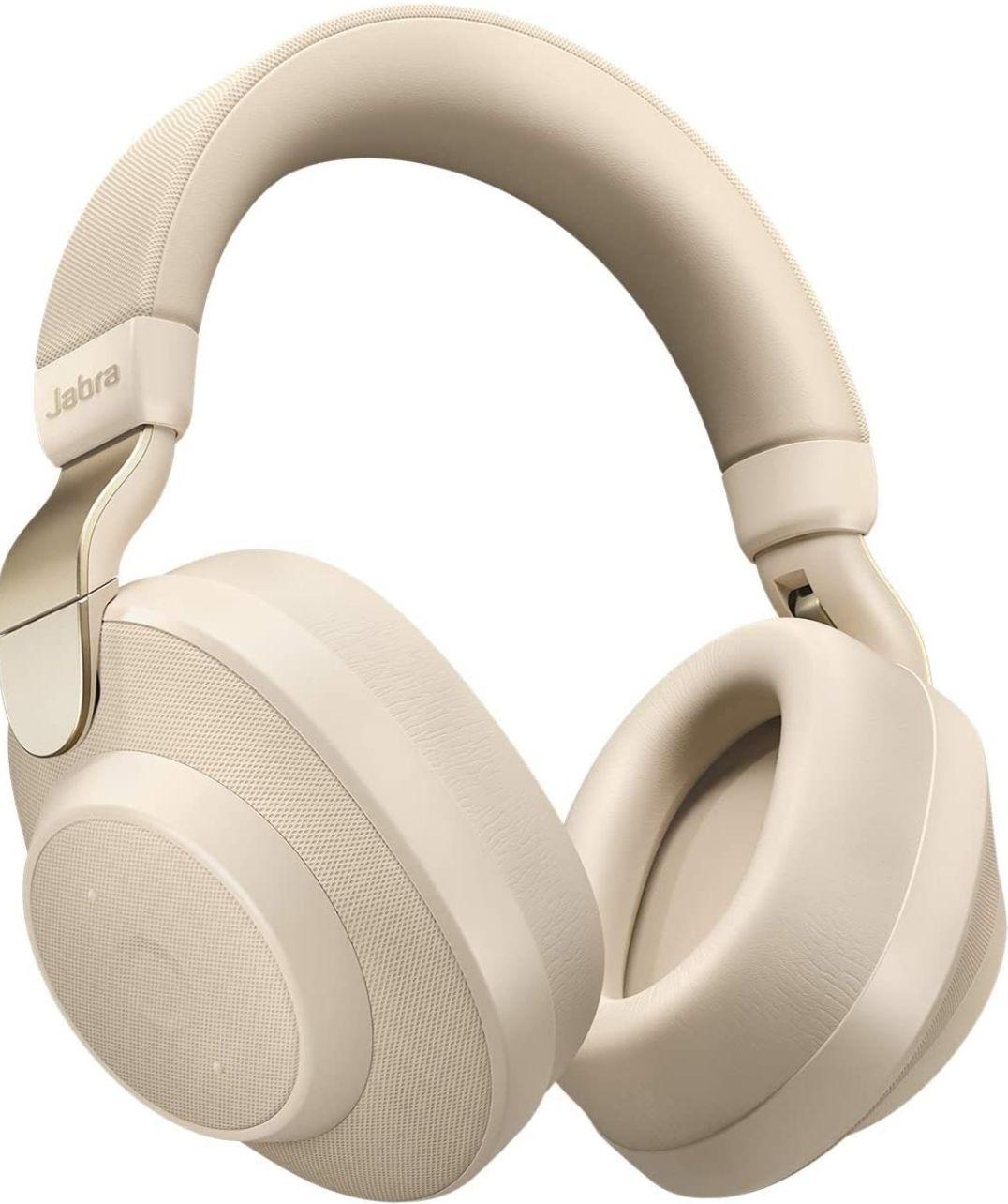Casque audio sans-fil à réduction de bruit Jabra Elite 85h - Bluetooth - Beige doré (Frais d'importation et de port inclus)