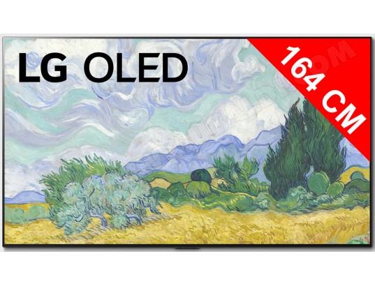 "TV OLED 65"" LG 65G1 - 4K UHD, 100 Hz, Dolby Vision iQ & Atmos, Smart TV, Sans pieds"
