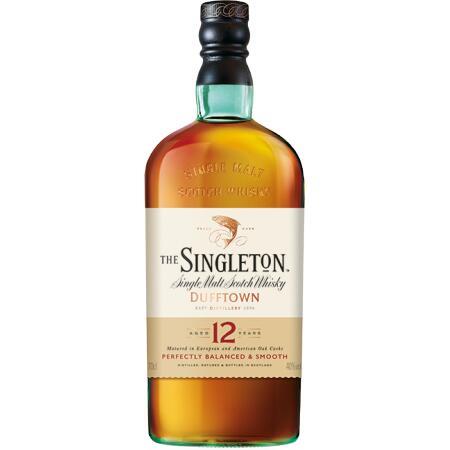 Bouteille de Whisky Single malt The Singleton - 12 ans d'âge, 70 cl